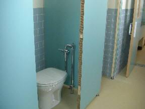3階男子トイレ 洋式トイレになりました