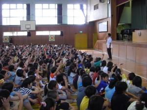 生徒指導担当・太田先生のお話(9:10)