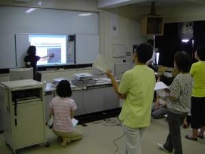 電子黒板の活用方法についての研修