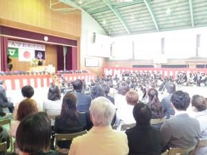 平成24年度入学式\\