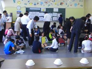 5年・算数研究授業のひとこま(14:20)