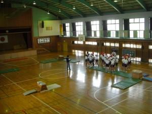 6年体育授業公開
