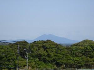 筑波山を望むことができました。(7:10)