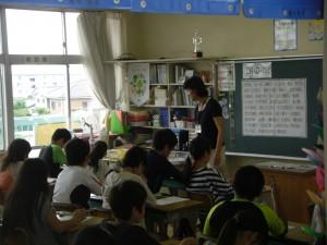 6年 総合的な学習の時間の授業(14:15)