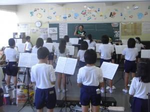 合同練習を行う吹奏楽部のみなさん(13:20)