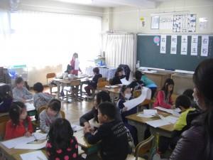 1年 国語の授業公開(14:20)