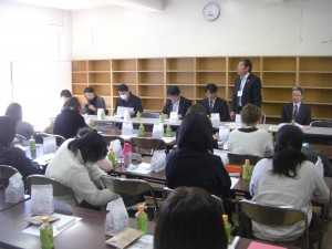 PTA実行委員会のひとこま(9:35)
