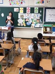 1年生:学級活動\