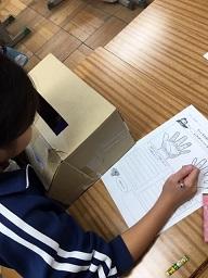 3年生:学級活動「正しい手洗い」