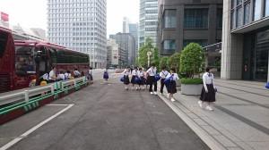 東京駅到着