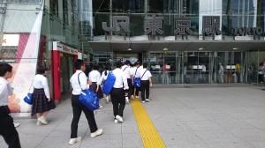 東京駅入場