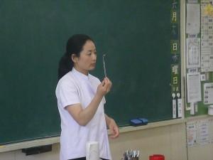 養護教諭による指導\\
