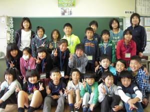 4班 幼稚園の先生との交流\