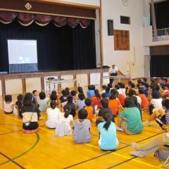 5・6年生合同 薬物乱用防止教室