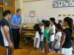 3年生 リチャード先生との英語学習