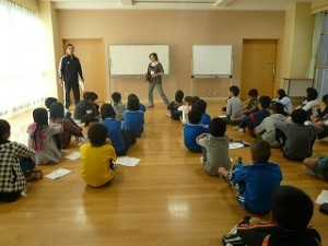 4,5,6年生 宿泊学習事前指導\