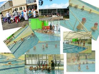 今年はじめてのプール学習:高松緑地公園\