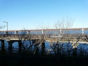 ランチルームからの眺め(神宮橋)\