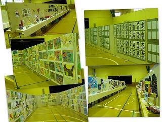 児童生徒作品展の開催(鹿嶋まちづくり市民センター:体育館)\