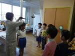 発育測定(全校児童)