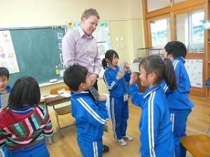 2年生 リチャード先生との英語学習\