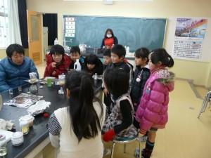 理科実験クラブ~ポップコーンを作っていました