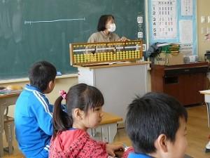 3年生 そろばん教室(友愛学院の先生)\