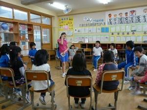 5年生による1・2年生と遊ぶ会(5年生の企画)\
