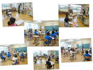 各教室では、学習の秋が・・・。\