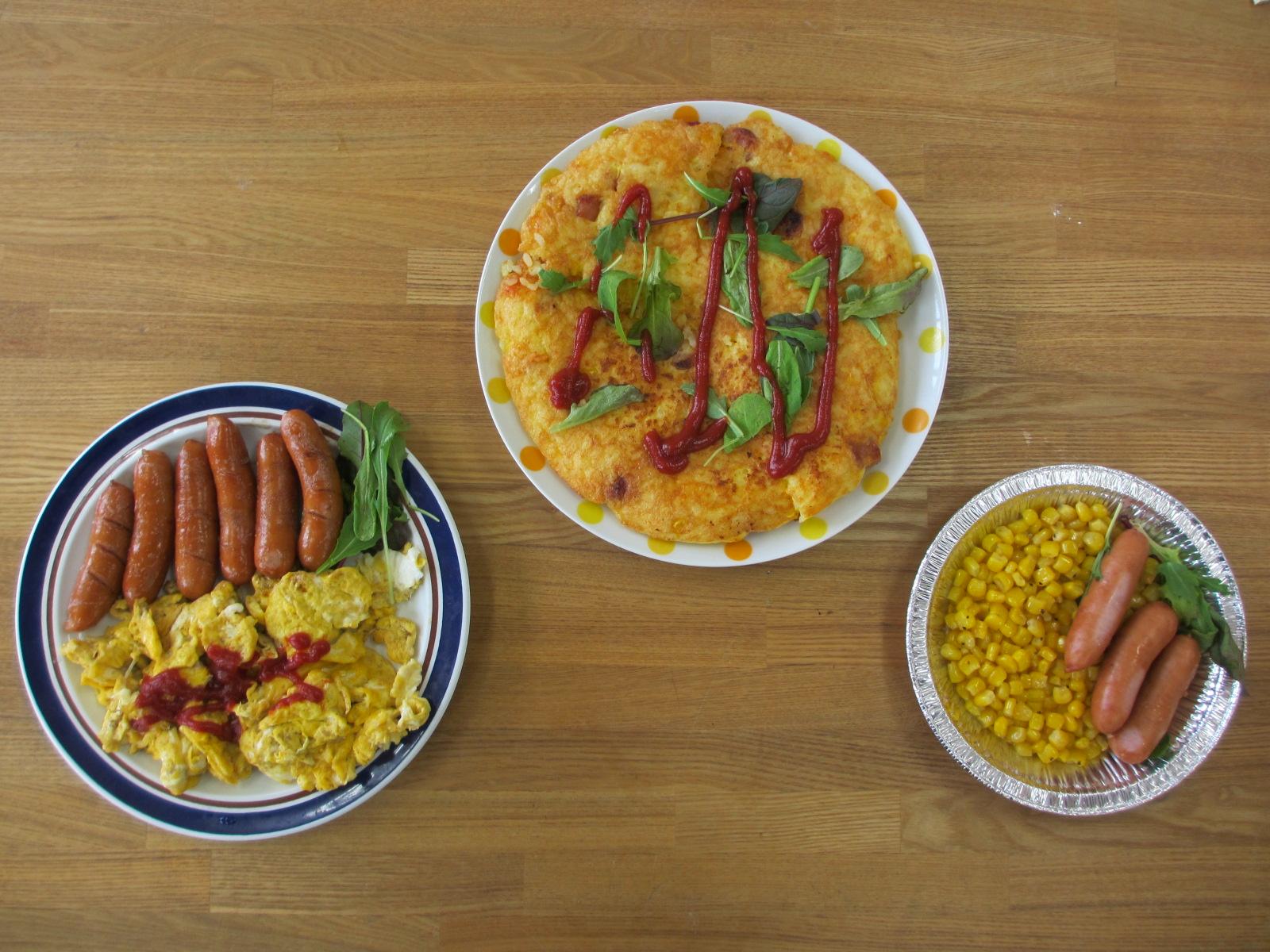 5年生が調理しました。プロ並みの味付けです。①
