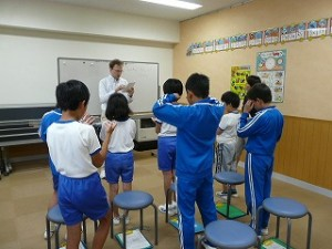 新しい教室 イングリッシュルーム