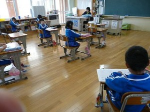1年生の教室
