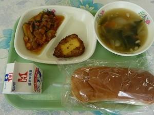 オニオンスープ  チキンチーズ ラタトウイユ(野菜煮込み)\
