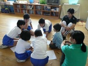 班別集会 登校班の反省