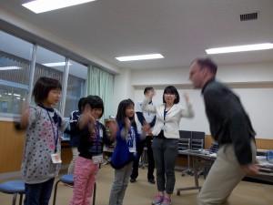 英語の研究授業 3年生\