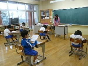 2年生の教室