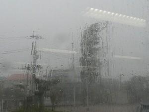 昨日の様子です。台風26号