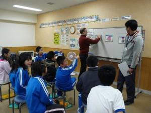 5年生の英語学習の様子\\