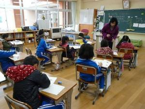 教室の様子 1年生\