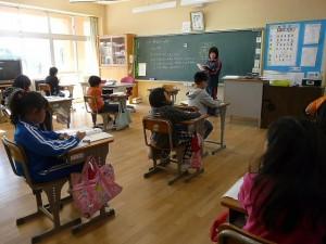 4年生の教室