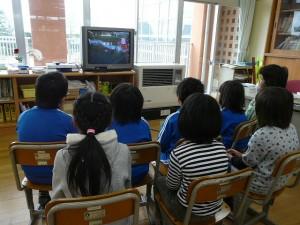 2・3年生教室 交通安全指導\