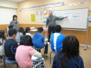 ジェラルド先生との英語学習(4年生)\\