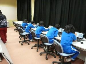 今日は PC教室です。\