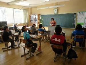 6年生の教室 元気です!\
