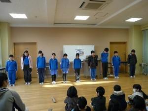 5年生の発表:合奏(少年時代)\