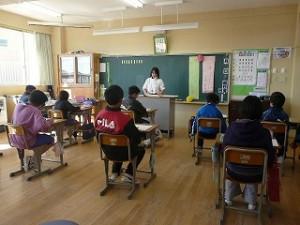 6年生 公開授業(国語)\