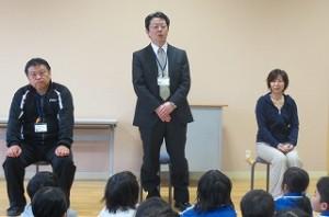 26年4月に豊津小へ来た先生へのインタビューです。面白い質問が運営委員会の子ども達によって考えられ,楽しい一時となりました。\