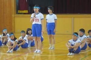 走り高跳びの選手達です。\