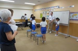 3校時4年生授業の始まりです。\