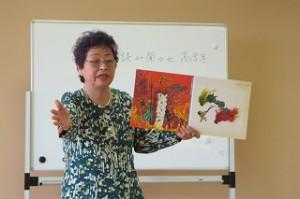 古賀さんはとても上手に読んでくださり,児童も教師も物語の中に入り込んでいきます。\